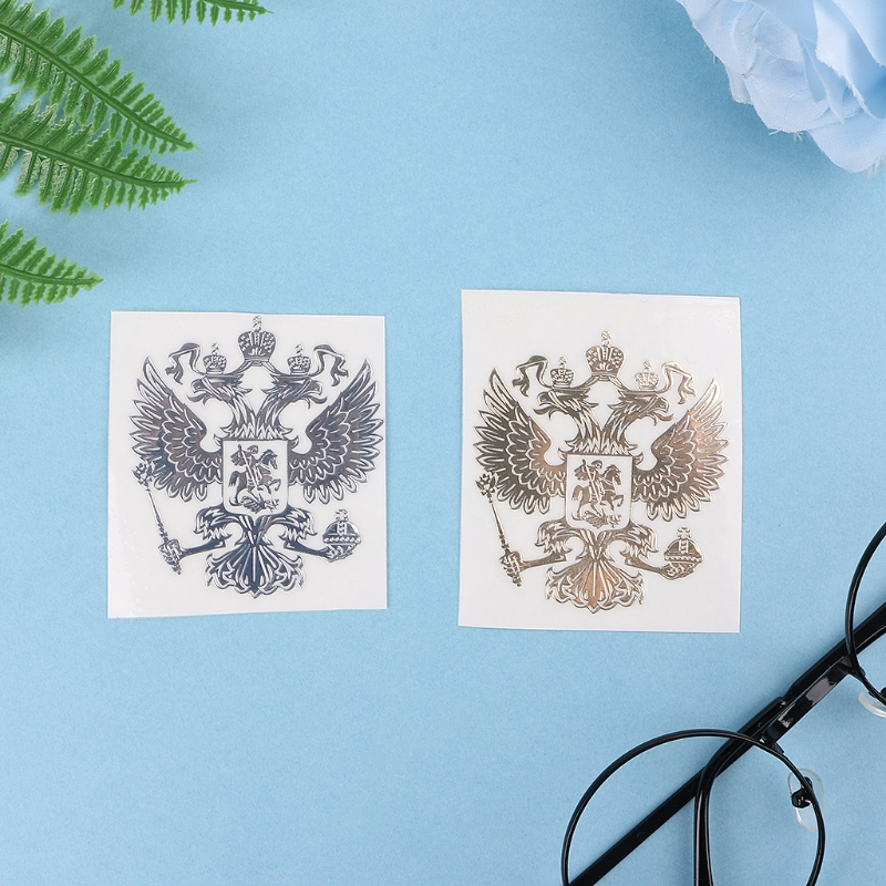 Coat Of Arms Of Russia Car Sticker Russian Eagle Decal Stickers For Car Styling