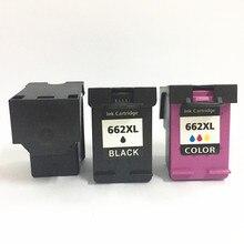 vilaxh 662XL Compatible Ink Cartridge Replacement For HP 662 XL Deskjet 1015 1515 3545 4510 4515 4518 2515 2545 printer
