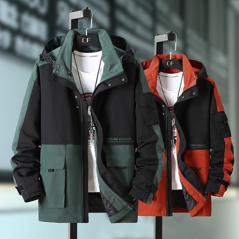 Brieuces Plus Size 10XL 9XL 8XL Spring Jacket Men Streetwear Bomber Jacket Men Coat Windbreaker Clothes Men Jacket Coat