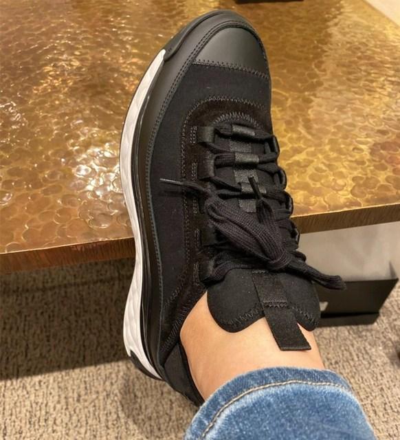 White Women Shoes  Platform Sneakers  6