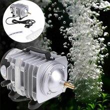 58 Вт 220 В аквариумный электромагнитный воздушный компрессор Портативный koi fish tank воздушный насос увеличивающий кислородный насос аэратор для пруда