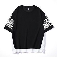 Short-sleeved T-shirt for Male Students with Loose
