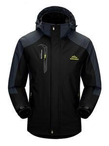 TRVLWEGO Hiking Jacket Windbreaker Sports-Coats Travel Climbing Outdoor Camping Autumn