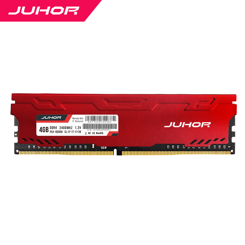 Juhor Desktop <font><b>Ram</b></font> <font><b>Ddr4</b></font> <font><b>Ram</b></font> <font><b>2400mhz</b></font> 16GB Desktop <font><b>8GB</b></font> 4GB 2666mhz 3000Mhz with heatsink image