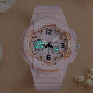 Image 5 - Shifenmei Digital Watch Women Sports Womens Watches Top Brand Ladies Bracelet Wristwatch Quartz Watch Female Relogio Feminino