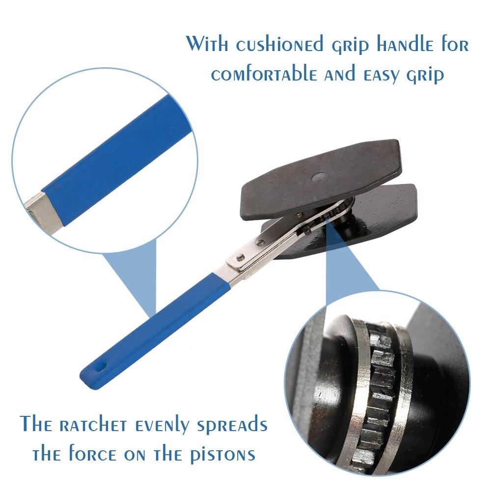 Main simple double Quad Pistons installer outil voiture cliquet frein Piston étrier clé épandeur outils accessoires