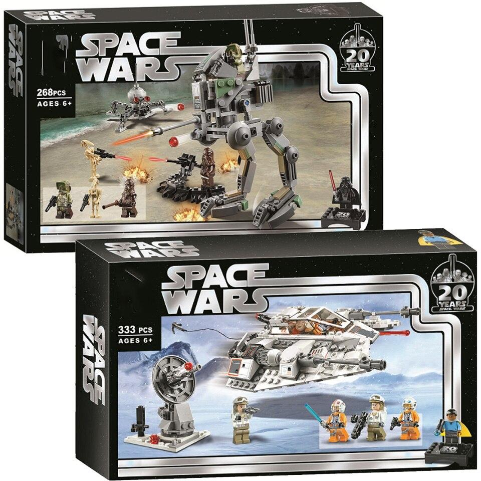 2020 Star Wars 75261 l'empire frappe Snowspeeder 20th anniversaire édition 11429 Kit de construction 333 pièces modèle enfants jouets