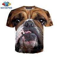 Аниме 3d принт футболка Для мужчин Для женщин homme с изображением собак боксеров модная футболка детская Harajuku короткий рукав футболки Забавны...