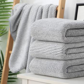 Zestaw ręczników kąpielowych z mikrofibry do włosów zestaw ręczników kąpielowych dla dorosłych bambusowy węgiel drzewny frotowe ręczniki do kąpieli zestaw ręczników kąpielowych bambusowy ręcznik łazienkowy z włókna węglowego tanie i dobre opinie CN (pochodzenie) RĘCZNIK KĄPIELOWY Pasek wyszywana Rectangle 300g JF032 można prać w pralce 5 s-10 s W paski 100 poliester