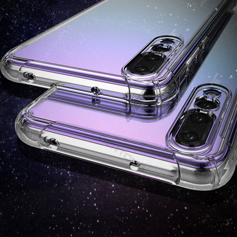 Soft TPU Cover Phone <font><b>Case</b></font> For <font><b>Huawei</b></font> Nova 3 3i P30 <font><b>P20</b></font> <font><b>Lite</b></font> <font><b>Mate</b></font> 20X <font><b>Mate</b></font> 20 <font><b>Lite</b></font> <font><b>Mate</b></font> 10 Pro P30Pro Anti-shock Clear <font><b>Cases</b></font> Bags image