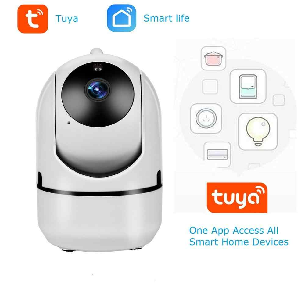 1080P Ip Camera Tuya Smartlife App Surveillance Beveiliging Wifi Draadloze Mini Cctv Indoor Home Camera Smart Alarm