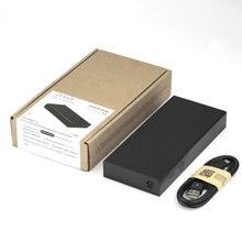 Портативный внешний аккумулятор зарядное устройство для путешествий Встроенный выход переменного тока двойной USB Светодиодный индикатор для ноутбуков Macbook смартфонов
