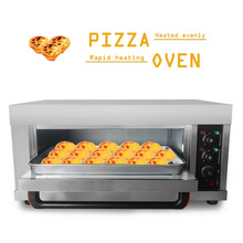 ITOP 3200W Electric Pizza Oven Cake Roasted Chicken Stainless Steel Baking Machine Single Roasted Oven With Pizza Pan And Stone все цены