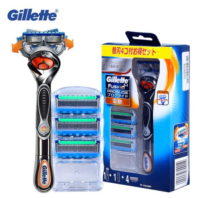 Gillette Fusion Proglide rasoir électrique pour homme, rasoir électrique, sécurité, porte barbe, lame tranchante