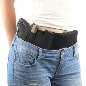 Image 1 - Тактическая кобура для пистолета, военная портативная Скрытая кобура с широким ремнем, кобура для улицы, охоты, стрельбы, защиты