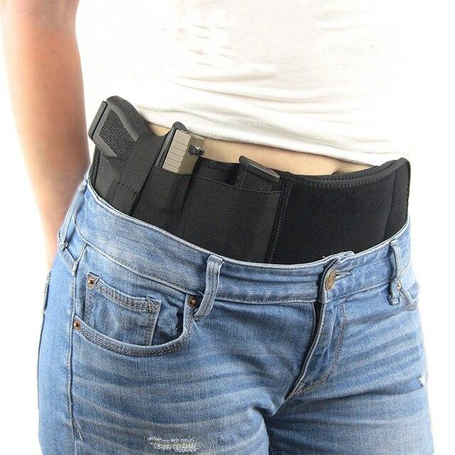 Тактическая кобура для пистолета, военная портативная Скрытая кобура с широким ремнем, кобура для улицы, охоты, стрельбы, защиты