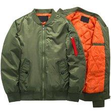 Primavera outono nova marca de moda dos homens jaqueta casual tamanho grande piloto bombardeiro masculino plus size 5xl 6xl 7xl 8xl