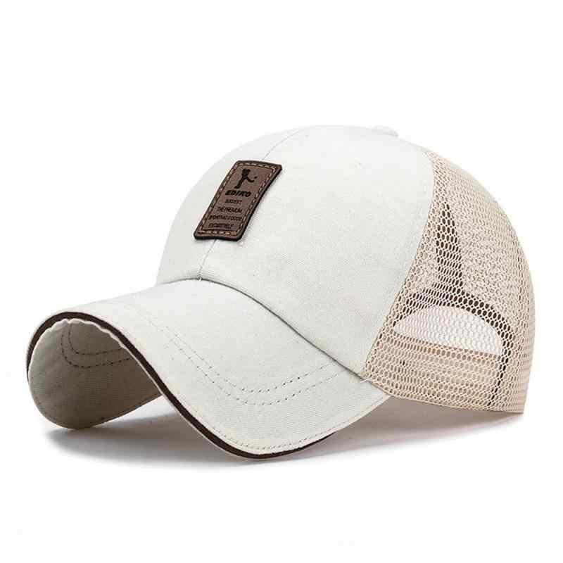 スポーツ帽子女性男性湾曲した太陽バイザーライトボード無地野球キャップ屋外太陽の帽子調整可能乗馬夏キャップ