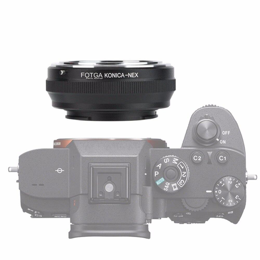 Bigking Adaptador de Lente Convertidor de Adaptador de Lente para KONICA AR Lente a para Sony NEX C/ámara sin Espejo