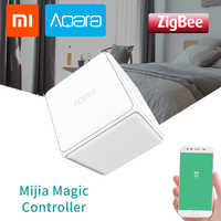 Xiaomi Aqara Magic Cube Controller Original Zigbee Controlled Six Actions Remote Control Switch Smart Home For Mijia Mi Home APP