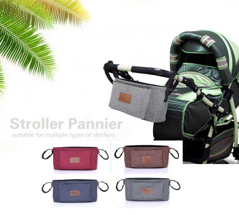 Universal Portable Stroller Hook Storage Bag Insulation Baby Diaper Stroller Bag Large Capacity Of Sex