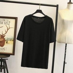 Модная футболка из 100% хлопка, пуловер с круглым вырезом, рубашка с коротким рукавом для женщин 2020, Новинка