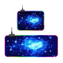RGB Gaming Mouse Pad Large Cool RGB Gaming Mouse Mat with Non-Slip Rubber Base