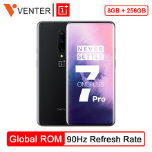 Original Globale ROM Oneplus 7 Pro Handy 8GB 256GB Snapdragon 855 6,67 Zoll 90GHz 2K bildschirm 48MP NFC Android 9(China)