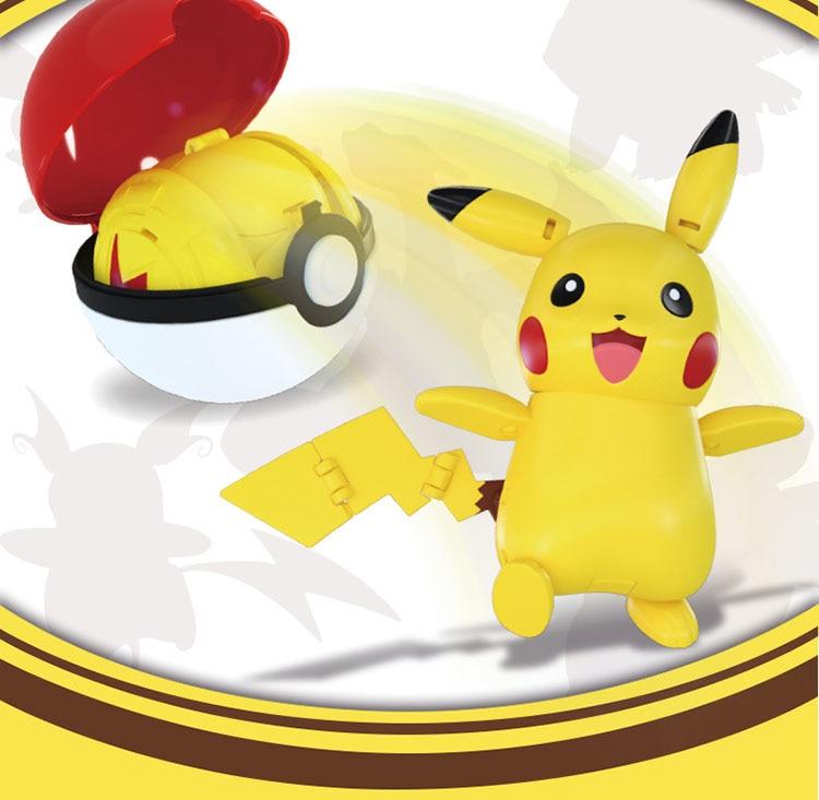 Pokemon In Pokeball Capsule Toys 9