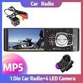 Автомобильный радиоприемник 4012B, 4,1 дюйма, Bluetooth, автомобильное аудио, стерео, поддержка камеры заднего вида, USB Mirror Link, для Android, FM, mp5-плеер, 1 Din