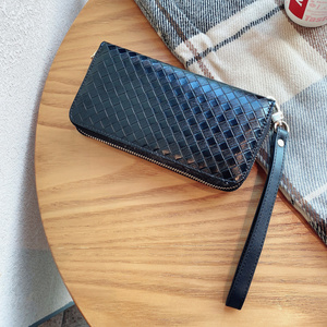 Image 4 - 高級地紋クラッチ4.0〜6.7サイズユニバーサル携帯財布Fhx 21T iphoneサムスンhuawei社xiaomi電話バッグ