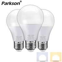 Lâmpada led e27 ac 220 v alto brilho lâmpada led 3 w 5 w 7 9 12 15 18 w spotlight ampola frio/branco quente