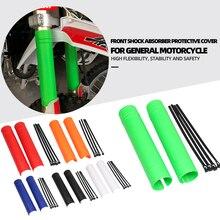 Für Yamaha Für Kawasaki Für Honda Für BMW Motorrad Universelle Oberen Gabel Schutz Schutz Abdeckung Stoßdämpfer Schutz Protector