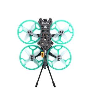 Image 4 - جديد وصول GEPRC Cineking 4K 2 4s FPV سباق الطائرة بدون طيار PNP BNF مع Caddx Tarsier كاميرا 1103 1105 موتور F4 12A وحدة تحكم في الطيران