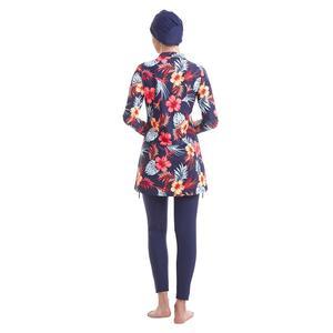 Image 5 - YONGSEN размера плюс Мусульманский купальник Burkinis женский купальник хиджаб с длинными рукавами скромный стиль мусульманская одежда для плавания