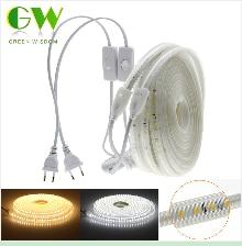 He4629e100aa1419e9e775da5e1e6521ab RGB LED Strip Light 5050 2835 DC12V Neon Ribbon Waterproof Flexible LED Diode Tape 60LEDs/m 5M 12V LED Strip for Home Decoration