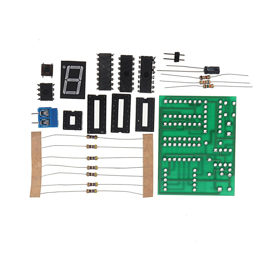 CLAITE DIY 5V Decimal Counter Soldering Practice Board Kit Circuits