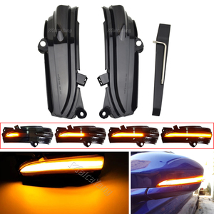Image 2 - LED dinamik dönüş sinyali yan ayna flaşör gösterge sıralı ışık Ford Fusion Mondeo 2013 2014 2015 2016 2017 2018 4th.