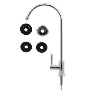 1/4 дюйма хромированный фильтр для питьевой воды кран обратного осмоса раковина кухонный кран
