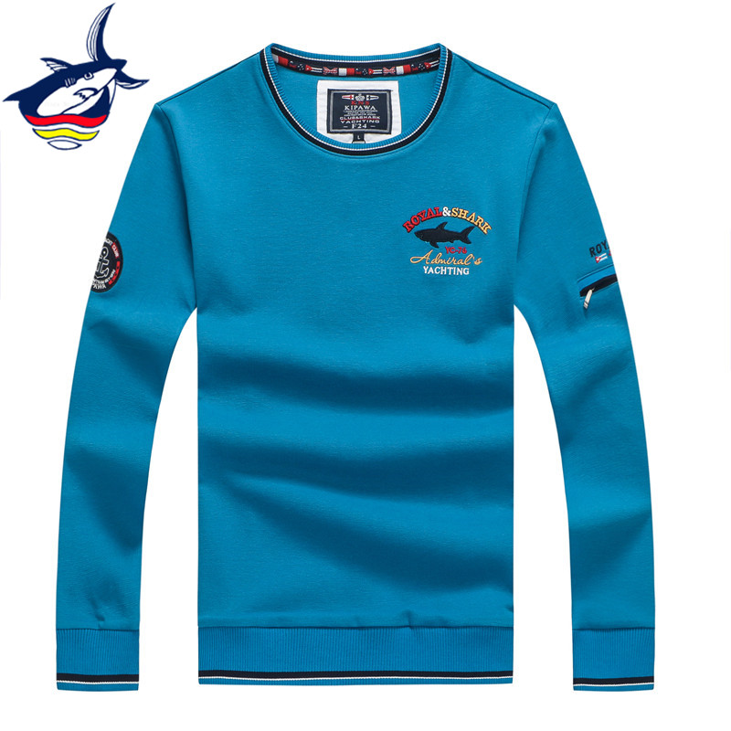 European Style Famous Brand Tace & Shark Sweater Men O-Neck Pullovers Woolen Knitted Christmas Sweaters For Men