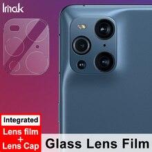 עבור OPPO למצוא X3/למצוא X3 פרו מצלמה עדשת מזג זכוכית IMAK 2PCS טלפון מצלמה מגן HD זכוכית מגן סרט
