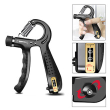 New Adjustable Handle Strengthener Counter Finger Gym Muscle Fitness Training Wr