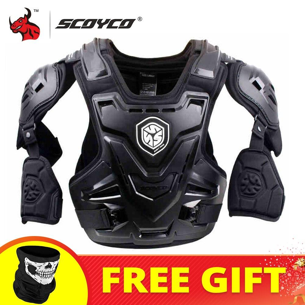 Защитный жилет для мотокросса SCOYCO CE, мотоциклетная куртка, гоночная Защитная защита для тела, MX