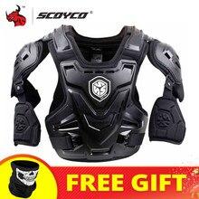 Scoyco ce motocicleta corpo armadura motocross peito volta protetor colete jaqueta de corrida proteção corpo mx armadura