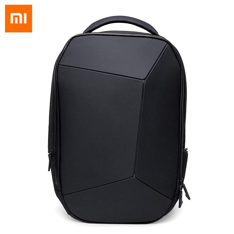 Original xiaomi mi geek mochila saco reflexivo seguro à prova dwaterproof água dos homens grande capacidade portátil bagpack para 15.6 polegada jogo notebook