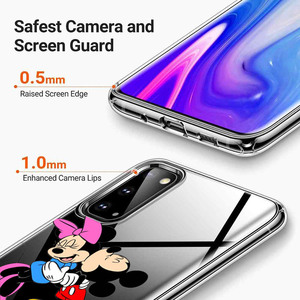 Image 4 - מיקי ומיני עבור Samsung Galaxy A01 A11 A12 A22 A21S A31 A41 A42 A51 A71 A32 A52 A72 A02S סיליקון טלפון מקרה