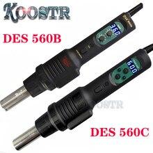 CXG DES 560B / DES 560C Portable Air chaud affichage numérique température réglable pistolet IC plate-forme de démontage et de soudage