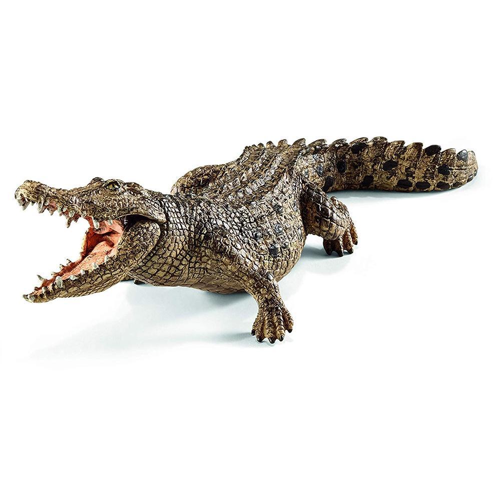 Modelo animal de simulación de cocodrilo acción /& Colección Figuras de Juguete para Niños de Regalo Fo