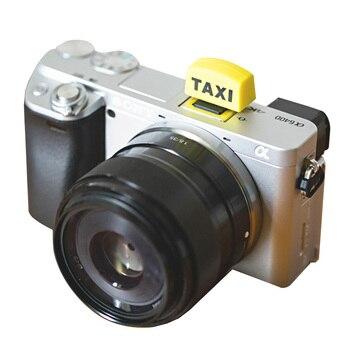 Taksówka w kształcie gorącej stopki pokrywa Protector dla Canon Nikon dla Fuji Pentax dla-Olympus lustrzanek cyfrowych dslr dla sony A7 a6000 kamery