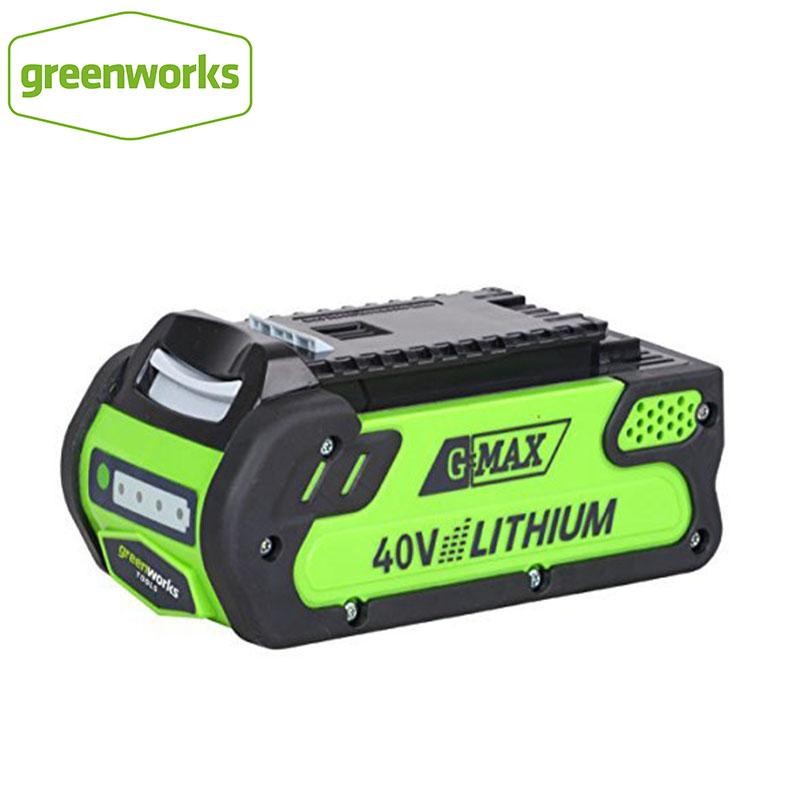 GreenWorks 29472 G-MAX 4 AH Li-Ion 40V 4amp G-MAX Battery High Quality ECO Lithium Battery For Various Products Of Greenworks